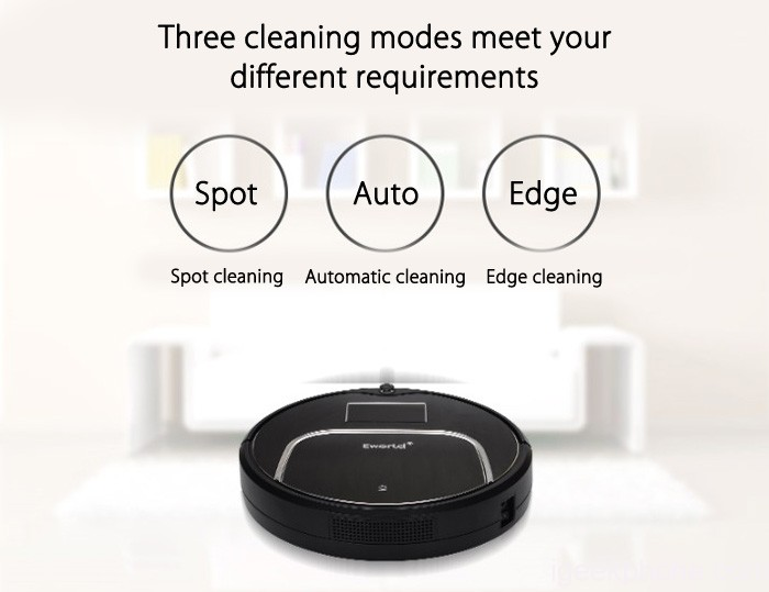 Eworld M883 Smart Robotic Vacuum Cleaner Just Relax And Enjoy