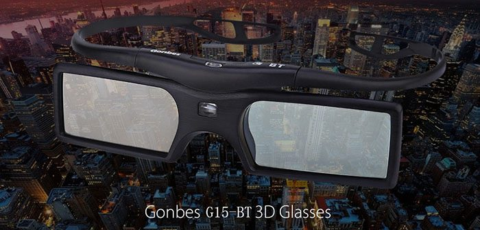Gonbes G15 � BT Bluetooth 3D Active Shutter Glasses