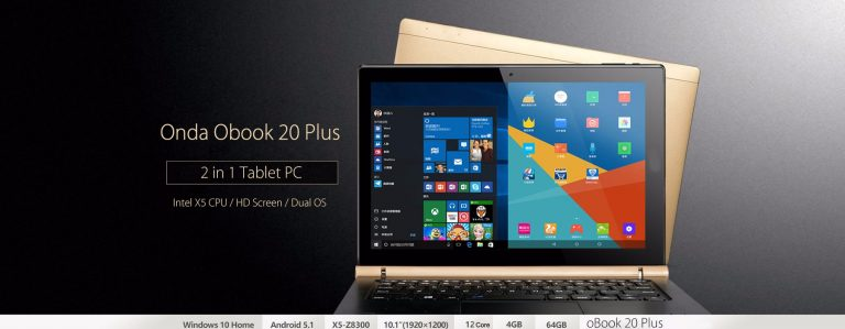 Onda OBook 20 Plus tablet pc Design, Hardware, Battery, Camera Review