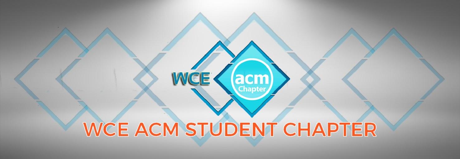 WCE ACM STUDENT CHAPTER BANNER